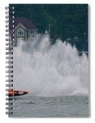 Speedboat Trials 1961 Spiral Notebook