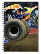 Speeding Tires Spiral Notebook