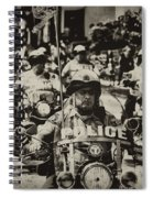 Speedy Motorcycle Spiral Notebook