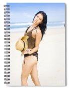 Spellbound Beach Beauty Spiral Notebook