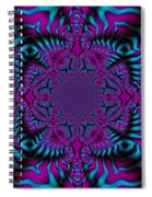 Spellbound - Abstract Art Spiral Notebook