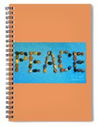 Spelling Peace Spiral Notebook