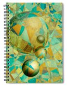 Spheres Of Life's Changes Spiral Notebook