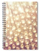 Spheres Of Light Spiral Notebook