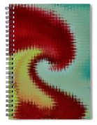Spherical Colours Spiral Notebook