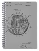 Spherical Satellite Structure Patent 1957 Spiral Notebook