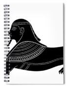 Sphinx - Mythical Creature Of Ancient Egypt Spiral Notebook