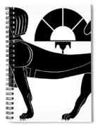 Sphinx - Mythical Creatures Of Ancient Egypt Spiral Notebook
