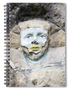 Sphinx - Rock Sculpture Spiral Notebook