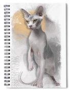 Sphynx No 04 Spiral Notebook