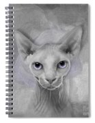 Sphynx No 19 Spiral Notebook