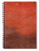 Spice- Abstract Art By Linda Woods Spiral Notebook