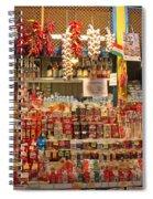 Spice Stall Spiral Notebook