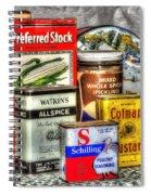 Spices 764 Spiral Notebook