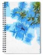Spider Or Plants Spiral Notebook