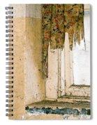 Spider Window Spiral Notebook