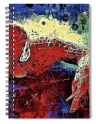 Spiderman Climbing  Spiral Notebook