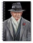 Spiffy Old Man Spiral Notebook