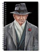 Spiffy Old Man Spiral Notebook