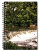 Spillway Early Morning Spiral Notebook