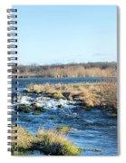 Spillway Panorama Spiral Notebook