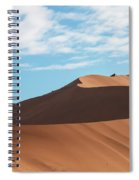Spine Of The Desert Spiral Notebook