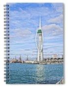 Spinnaker Tower Portsmouth Spiral Notebook