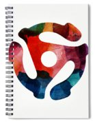 Spinning 45- Art By Linda Woods Spiral Notebook
