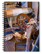 Spinning And Weaving Spiral Notebook