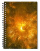 Spinning Firecracker And Bright Colors Spiral Notebook