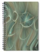 Spinning Galaxies Spiral Notebook