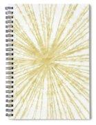 Spinning Gold- Art By Linda Woods Spiral Notebook