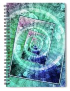 Spinning Nickels Into Infinity Spiral Notebook