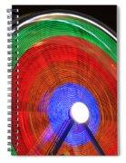 Spinning Wheels Spiral Notebook