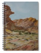 Spinx In The Valley Of Fire Spiral Notebook