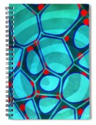 Spiral 4 - Abstract Painting Spiral Notebook