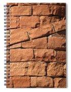 Spiral Bricks Spiral Notebook