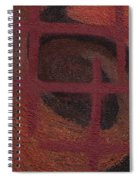 Spiral Browns Painting Spiral Notebook