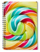 Spiral Candy  Spiral Notebook