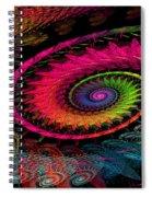Spiral In  Spirals. Spiral Notebook