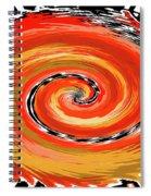 Spiral Of Fire Spiral Notebook