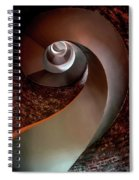 Spiral  Staircase In An Old Lighthouse Spiral Notebook