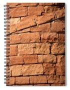 Spiraling Bricks Spiral Notebook