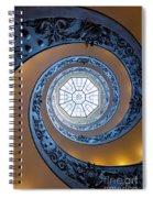 Spiraling Towards The Light Spiral Notebook