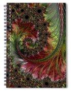 Spiralling Fractal One Spiral Notebook