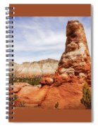 Spire Rocks At Kodachrome Basin State Park Spiral Notebook