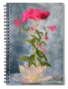 Spirea In Crystal Spiral Notebook