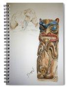 Spirit Bear Spiral Notebook