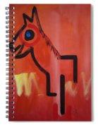 Spirit Horse Spiral Notebook