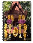 Spirit House Spiral Notebook